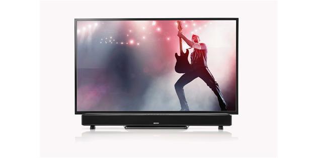Denon DHT-S514 Soundbar mit TV (Gitarrist)