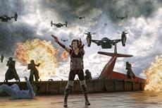 Alice (Milla Jovovich) ist die letzte Hoffnung der Menschheit © 2012 Constantin Film Verleih GmbH