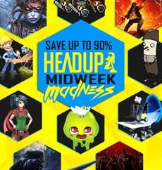 Alle Headup-Titel bis zu 90% ermäßigt!