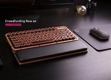 Aufregendes Design im nostalgischen Schreibmaschinen-Look