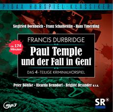 CD-VÖ | Francis Durbridge: Paul Temple und der Fall in Genf
