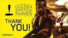 Cyberpunk 2077 claims this year's Golden Joystick for Most Wanted Game