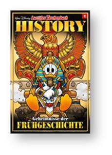 Das LTB schreibt Geschichte! Entenhausener Helden auf den Spuren der Menschheitsgeschichte