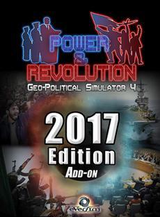 Das Release des Add-ons Edition 2017 für das PC-Spiel Power & Revolution, Geopolitical Simulator 4
