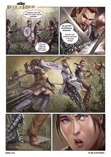 Das Schwarze Auge: Book of Heroes - hier kommt Comic-Seite 5