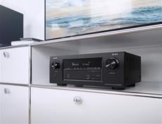 Denon AVR-X3400H: mehr Leistung, mehr Eigenschaften, mehr Unterhaltung