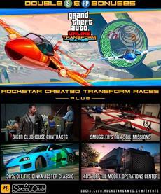 Diese Woche in GTA Online: Doppelte GTA$ & RP auf Rockstar-Verwandlungsrennen und Biker-Missionen