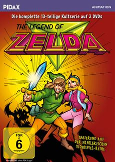 "DVD-VÖ: der Kultserie ""The Legend of Zelda"""