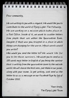 Ein besonderer Brief für Dying-Light-Fans