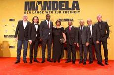 Ergreifende Deutschlandpremiere in Berlin: MANDELA - DER LANGE WEG ZUR FREIHEIT