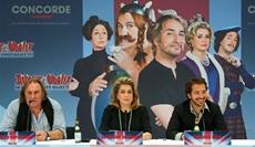 Feature   Catherine Deneuve, Gérard Depardieu und Edouard Baer in Berlin