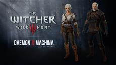 Free Witcher-themed DLC for DAEMON X MACHINA available now for Nintendo Switch!