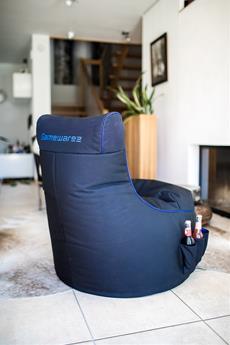Gamewarez präsentiert neue Möbel für bequemes Zocken vor der Konsole