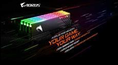 GIGABYTE stellt die neuen AORUS RGB MEMORY 16GB 3600MHz Kits vor
