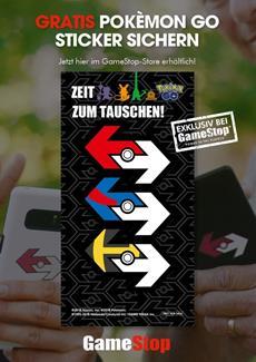 Gratis Pokémon GO Sticker! - jetzt exklusiv bei GameStop