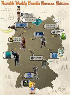 Humble Bundle - Germany Edition 12 Games aus Deutschland zum Pay What You Want-Preis