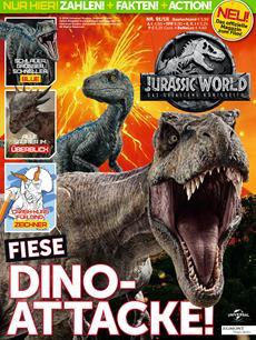 Jurassic World als eigenes Magazin