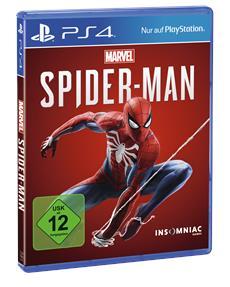 Marvel's Spider-Man ab sofort exklusiv für PlayStation 4 erhältlich