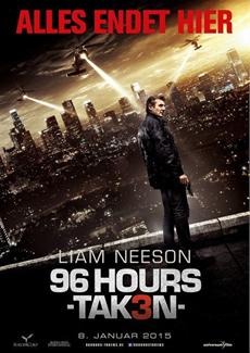 Nach nur 96 Stunden! Liam Neeson fightet sich in die Spitze der Charts und läutet das Blockbuster-Jahr ein: #2 in Deutschland, # 1 in Österreich