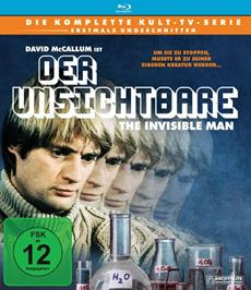 Review (Blu-Ray): Der Unsichtbare - The Invisible Man - Die komplette Serie
