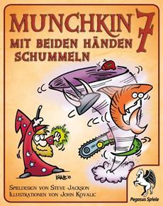 Review (Gesellschaftsspiel): Munchkin 7 - Mit beiden Händen schummeln