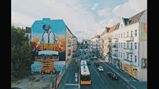 Riesiges PUBG-Wandbild und Pop-Up-Stores ab sofort in Berlin