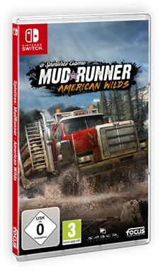 Spintires: MudRunner - American Wilds f&uuml;r Nintendo Switch<sup>&trade;</sup>