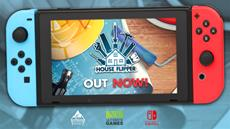 Steam's best-selling title House Flipper launches today on Nintendo Switch!