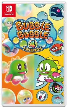 Strictly Limited Games veröffentlicht Bubble Bobble 4 Friends von TAITO als streng limitierte Standard und Collector´s Edition für Nintendo Switch