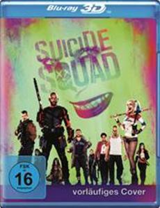 SUICIDE SQUAD ab 19. Dezember auf 4K Ultra HD, Blu-ray 3D, Blu-ray und DVD