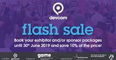 The devcom Expo Flash Sale Ends June 30th