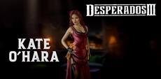 Trefft Kate O'Hara im neuen Desperados III Trailer / Spielbare Demo auf GOG.com