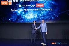 Tuya kündigt Kooperation mit Samsung SmartThings an