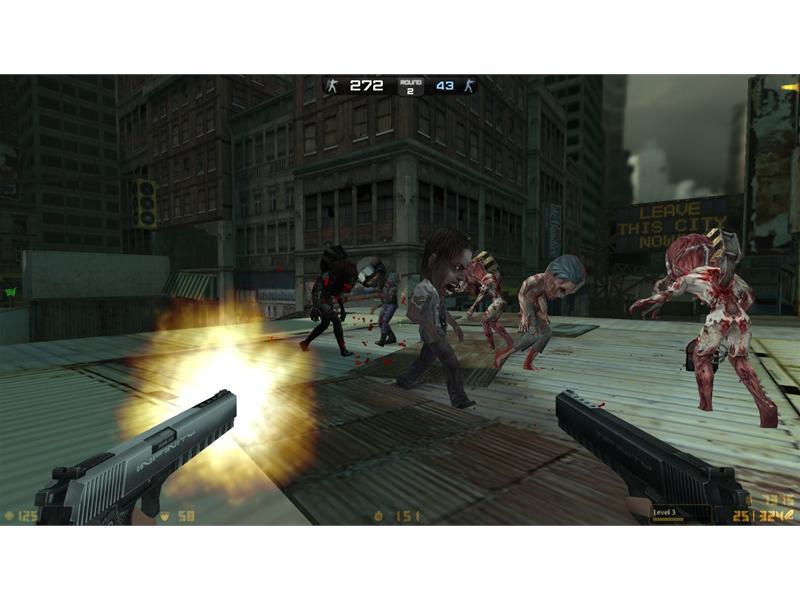 In Counter-Strike Nexon: Zombies ist Weihnachten schon früher ...