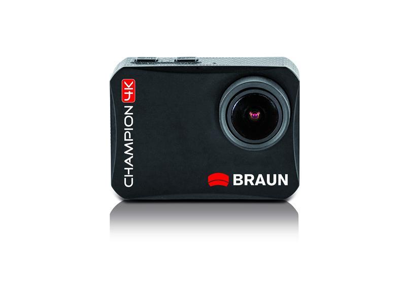 BRAUN Champion 4K - sehr kompakte und leichte Action-Kamera mit 4K ...