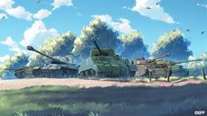"""""""Ansturm"""" auf Girls und Panzer (World of Tanks: Blitz Pressemeldung)"""