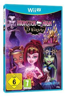 &quot;Monster High<sup>&trade;</sup> 13 W&uuml;nsche&quot; ab sofort erh&auml;ltlich - F&uuml;rchte dich vor dem, was du dir w&uuml;nscht!
