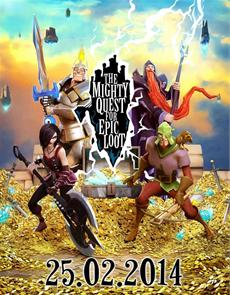 """The Mighty Quest for Epic Loot"": Open Beta beginnt am 25. Februar"
