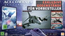 ACE COMBAT 7: Skies Unknown - Vorbestellerboni und Deluxe-Edition
