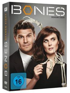 """BD/DVD-VÖ   Die Knochenjagd geht weiter mit """"Bones - Season 8"""""""