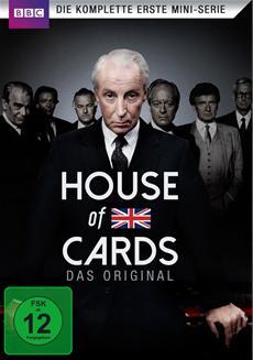 BD/DVD-VÖ | House of Cards - Die komplette erste Mini-Serie