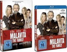 Die schlagkräftigen Charaktere aus MALAVITA - THE FAMILY (HE-Release 11. April 2014)