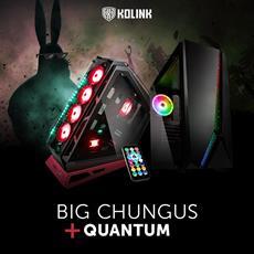 BRANDNEU bei Caseking - Kolink Big Chungus & Kolink Quantum RGB-Gehäuse