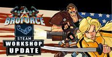 BRO-KTOBER! Broforce mit verbesserter Ausrüstung, neuen Bros, neuen Missionen und Steam Workshop-Unterstützung