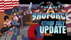 """Broforce lässt das """"Fourth of July"""" - Update auf die Friedliebende Welt los ..."""
