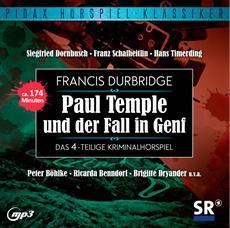 CD-VÖ | Francis Durbridge: Paul Temple und der Fall in Genf
