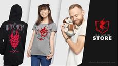 Der offizielle Merchandise-Store von CD PROJEKT RED ist eröffnet!