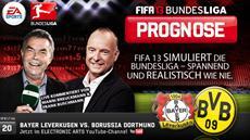 Die FIFA 13 Bundesliga Prognose: Bayern-Jäger gesucht - Bayer 04 empfängt den BVB