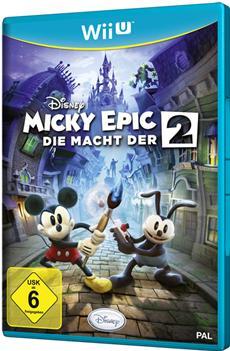 Disney Interactive veröffentlicht Disney Micky Epic - Die Macht der 2 für Nintendo Wii U