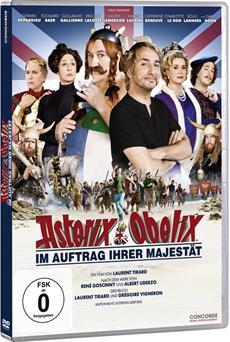 DVD-VÖ | ASTERIX & OBELIX - IM AUFTRAG IHRER MAJESTÄT